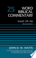 Isaiah 34 66 Volume 25