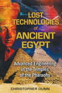 Pdf Lost Technologies of Ancient Egypt Telecharger