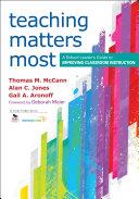 Teaching Matters Most Pdf/ePub eBook