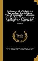ENCY OF US SUPREME COURT REPOR