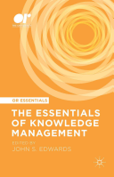 The Essentials of Knowledge Management Book
