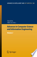 Advances in Computer Science and Information Engineering Book