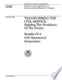 Transforming The Civil Service Book PDF