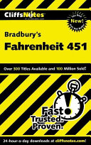 CliffsNotes on Bradbury s Fahrenheit 451 Book