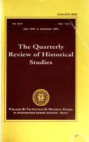 The Quarterly Review Of Historical Studies