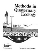 Methods in Quaternary Ecology