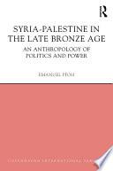 Syria Palestine In The Late Bronze Age
