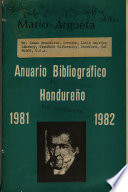 Anuario bibliográfico hondureño