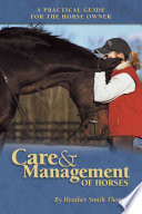Care   Management of Horses Book