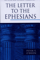 Pdf The Letter to the Ephesians