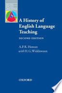 A History Of Elt Second Edition