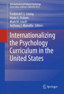Pdf Internationalizing the Psychology Curriculum in the United States Telecharger