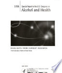 Special Report To The U S Congress On Alcohol And Health From The Secretary Of Health And Human Services Book PDF