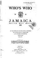 Who s who Jamaica