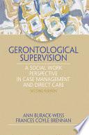Gerontologicial Supervision