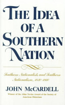 The Idea of a Southern Nation