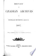 Annual Report   Public Archives of Canada