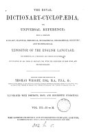 The royal dictionary cyclop  dia  for universal reference  compiled under the direction of T  Wright