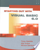 Starting Out with VISUAL BASIC 6.0