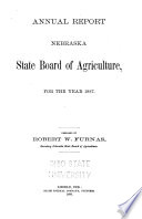 Annual Report of the Nebraska State Board of Agriculture for the Year