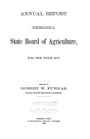 Annual Report of the Nebraska State Board of Agriculture for the Year ebook