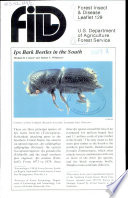Ips Bark Beetles in the South