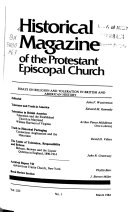 Historical Magazine of the Protestant Episcopal Church