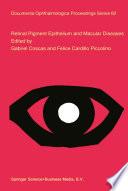 Retinal Pigment Epithelium and Macular Diseases