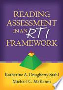 Reading Assessment in an RTI Framework Book PDF
