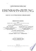 Österreichische eisenbahn-zeitung