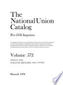 The National Union Catalog, Pre-1956 Imprints