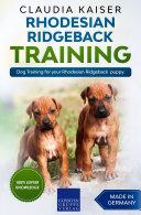 Rhodesian Ridgeback Training