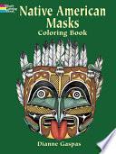 Native American Masks Coloring Book Book