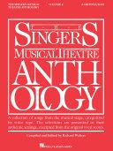 Singer's Musical Theatre Anthology - Volume 4
