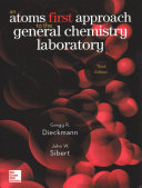 LAB MANUAL FOR CHEMISTRY  ATOMS FIRST