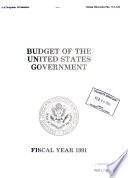Budget of the United States Government