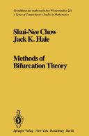 Methods of Bifurcation Theory