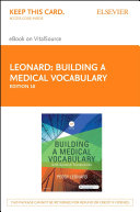 Building a Medical Vocabulary   E Book