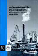 Implementation of the GPA at Regional Level