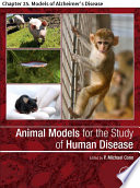 Animal Models for the Study of Human Disease Book