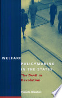 Welfare Policymaking in the States
