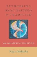 Rethinking Oral History and Tradition Pdf/ePub eBook