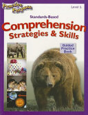 Standards Based Comprehension Strategies   Skills Guided Practice Book  Level 1