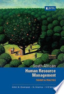 """South African Human Resource Management: Theory & Practice"" by Ben Swanepoel, Barney Erasmus, Heinz Schenk"