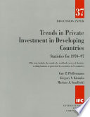 Trends In Private Investment In Developing Countries