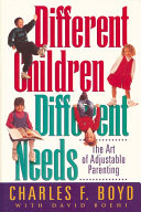 Different Children  Different Needs Book