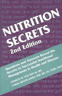 Nutrition Secrets Book PDF