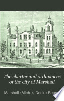 The Charter and Ordinances of the City of Marshall Book