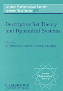 Descriptive Set Theory and Dynamical Systems