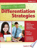 Ready-to-Use Differentiation Strategies  : Grades 6-8